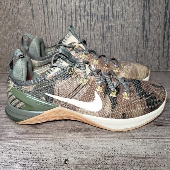 5463b1c0a6d5 Nike Metcon DSX Flyknit CAMO Training Shoes Men s